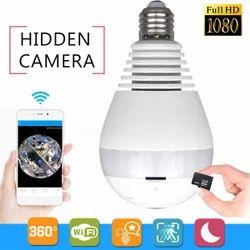 LED Spy Bulb Camera HD Wireless BULB CAMERA WIFI LED LIGHT BULB CAM
