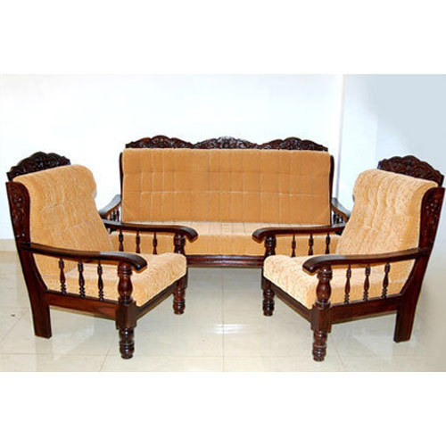 Luxury Wooden Sofa Set at Rs 12000 /set | Wooden Sofa Set ...