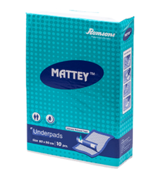 Romsons Mattey Disposable Underpads