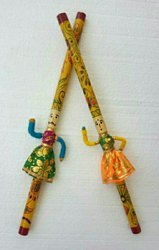 Wooden Raja Rani Dandiya Sticks