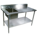 Vishnu Traders SS Sink Table