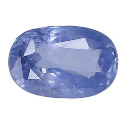 Cornflower Oval - Cut Natural Ceylon Blue Sapphire