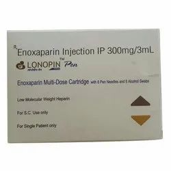 Lonopin MD 300mg Injection