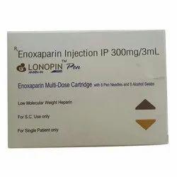Lonopin Pen 300 mg/3 ml Enoxaparin Injection