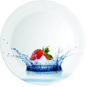 Melamine Sporty Plateaqua Strawberry