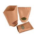 Kraft Brown Paper Stand Up Pouches