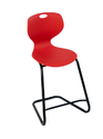 Red Bloom Plastic Office Chairs, Height: 790 Mm, Length: 460 Mm
