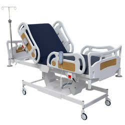 ICU Beds - (ICU - 101) - Centralized Control For Castor Locking ICU Bed