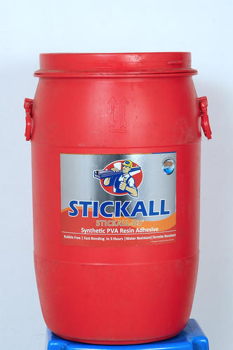 STICKALL Industrial Grade PVA Adhesive ( Adhesive For Plywood & Laminate ), 5 Kg