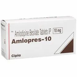 Amlodipine (10mg) Amlopres10 Tablet