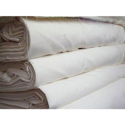 White Suiting Cotton Fabric, Plain/Solids, 150 - 200 Gsm