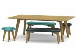 Commercial Plywood Canteen Table