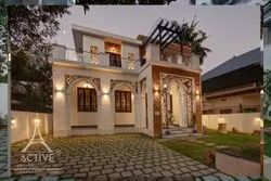Residential Interior Designing House Construction