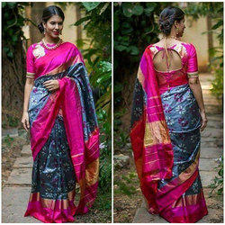 911a380a9f2 Pochampally Silk Saree at Best Price in India