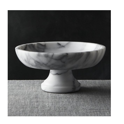 Grey Marble Fruit Bowl Rs 1400 Piece