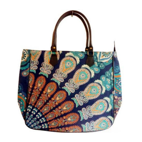 Craftola Printed Canvas Tote Bags, Size: Up To 16 X 18 Inch, Size/Dimension: 14X20