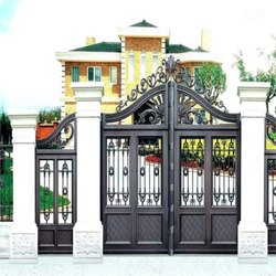 Decorative Mild Steel Entrance Gate