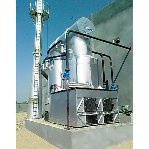 Solid Fuel Fired Thermic Fluid Heater - Compact Modular