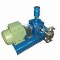 Mild Steel Three Phase Metering Pumps, Voltage: 220 V