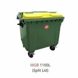 1100 Liter Wheeled Bin