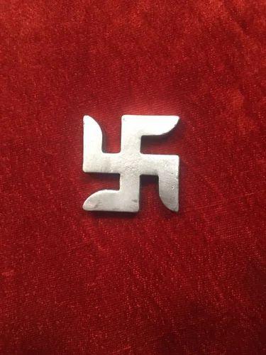 Silver Swastik Parad, Rs 1500 /piece Pandit Nm Shrimali | ID: 14866953862