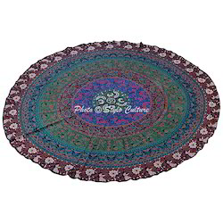 Cotton Mandala Beach Throw