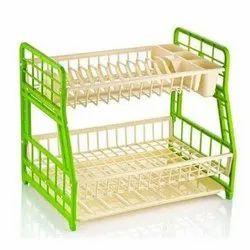 Hobby Life Free Standing Plastic Kitchen Storage Rack, Size: 30*44*36 Cm