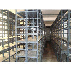 Slotted Angle Steel Storage Rack, For Warehouse