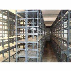 Slotted Angle Steel Storage Rack