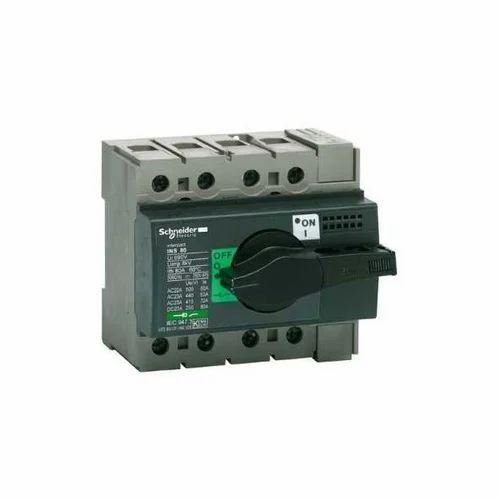 Schneider Switch Disconnector Fuse  230 V  Rs 1050   Piece J D Sales Corporation