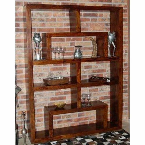 Wooden Bookcases Cum Display Rack