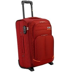 Red Trolley Bag, For Travelling, Size: 38 X 23 X 49 Cm (hx W X L)