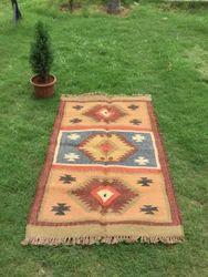Wool Jute Kilim Rug, Exclusive Rug, Area Rug, Home Rug, Traditional Rug