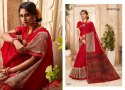 Linen Cotton Printed Saree By Lifestyle Sarees
