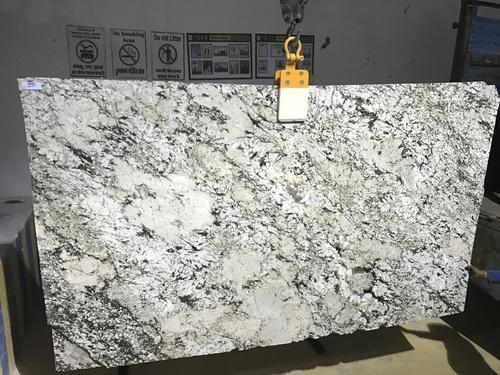 Polished Exotic Alaska White Granite Thickness 20 25 Mm