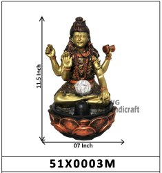 Indoor Decorative Table Top Water Fountain Shiva