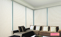 Cloth White Vertical Grayson Blind