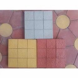 Interlocking Square Paver Block