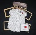 Cotton Regular Fit Supper Sealing Tommy Hilfiger Shirt Full Stock Available