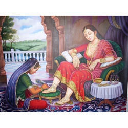 Indian Queen Painting