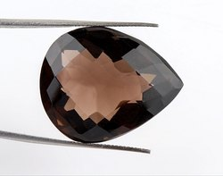 47 Cts Designer Smokey Quartz Gemstone
