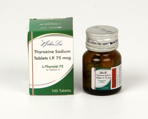 Thyroxine Sodium Tablets Packaging Type Bottles Id 20291784573