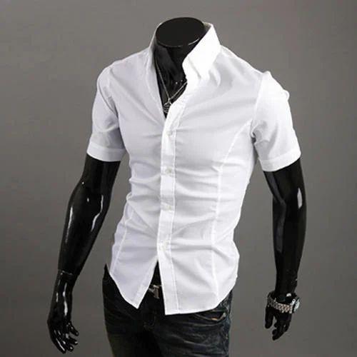 plain white shirt mens