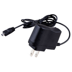 Black Micromax Mobile Charger