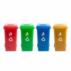 Colored Dustbin