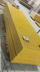Rectangular FRP Walkway Mouldig Gratings