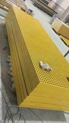 Rectangular FRP Walkway Mouldig Gratings