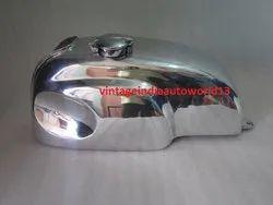 New Honda Cb Xs Manx Style Aluminum Alloy Cafe Racer Gas Fuel Petrol Tank With Monza Cap