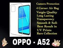 Silicon OPPO A52 Mobile back cover