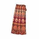 Casual Cotton Long Skirt